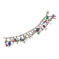 charm bracelet by tiffany & co and raymond yard