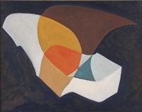 abstract asymmetric scene by karl metzler
