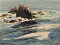 coastal rocks by clyde eugene scott