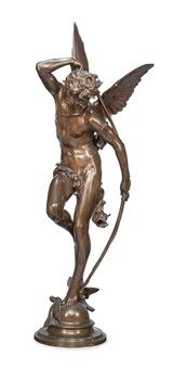 amour ou cupid by jules-felix coutan