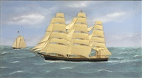 the clipper ship sweepstakes by thomas h. willis
