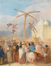 charakpuja, the hook swinging festival by james atkinson
