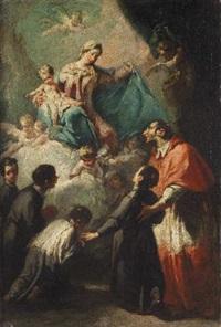 la madonna con il bambino, san carlo borromeo e giovani chierici by anonymous-italian-lombardy (18)