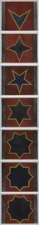 sette stelle by sol lewitt