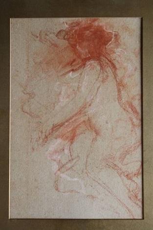 figuur studie by antonio mancini