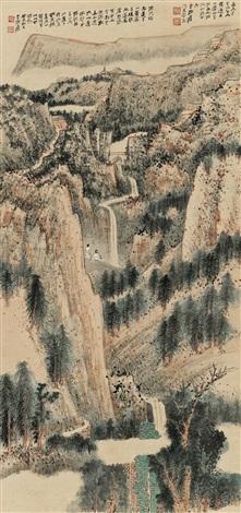 河西之遊journey to the west by zhang daqian