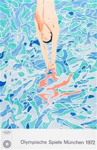 olympische spiele munchen by david hockney