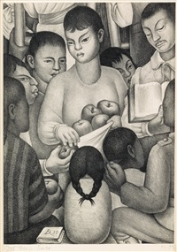 fruits of labor by diego rivera