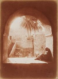 afrique du nord. jeune tunisienne. jeunes tunisiens. musiciens. coucher de soleil. casbah. désert. ruelles. palmeraies. patios. portrait. 15 by lehnert & landrock