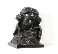 bust of ludwig van beethoven by naum aronson