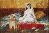 a harem beauty by ciro mazini