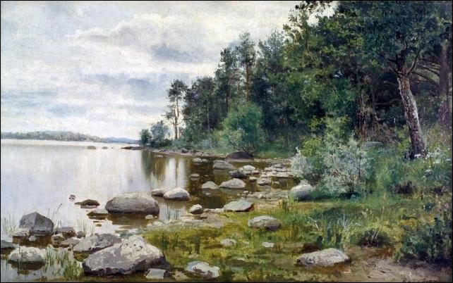 rantakivikko by nikolai alexandrovich klodt
