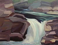 elbow falls by lorna dockstader