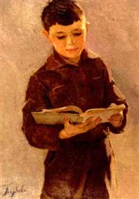 schoolboy by anna antonova goloubova