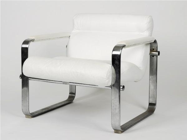 chrome chairs (pair) by eero aarnio