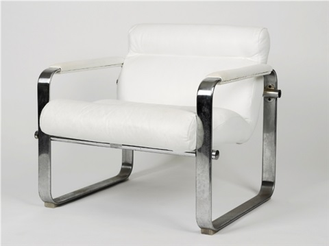 chrome chairs pair by eero aarnio