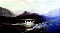 a highland bridge by charles leslie