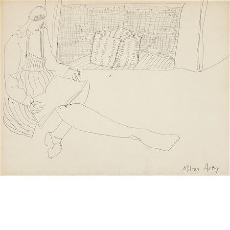 march reading by milton avery