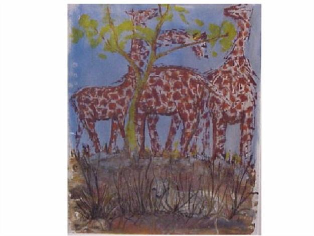 giraffes by sane wadu
