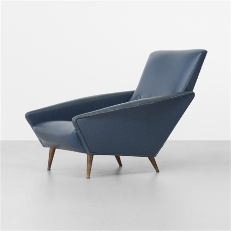 distex lounge chair model 807 by gio ponti