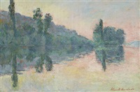 bords de seine, près de vernon by blanche hoschedé-monet