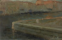 le grand canal, venise by john lavery