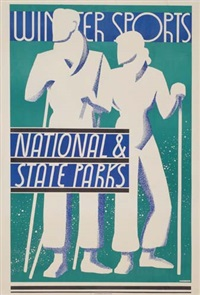 winter sports national & state parks by dorothy waugh