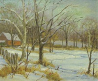quiet sight, chester county farm by wilmer richter