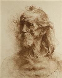 head of a man by naum aronson