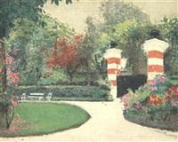 le parc, maison bréchaille à chatou by georges (estrel) rasetti