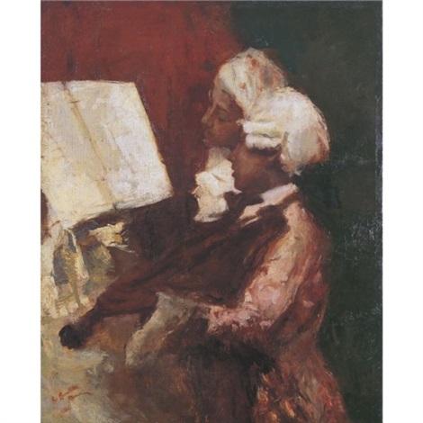 musicians by romualdo locatelli