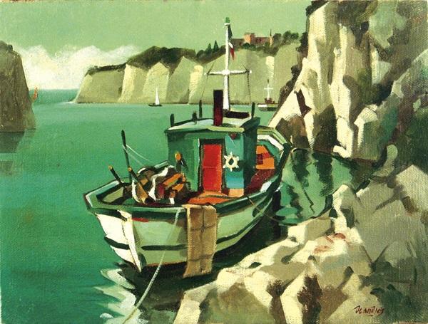 le barche del canyon by giovanbattista de andreis