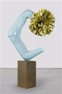 american tan iii (bronze) by gary hume
