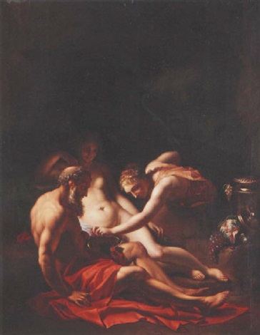 lot and his daughters by pieter van der werff