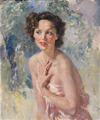 portrait of the actress jessie matthews o.b.e. by thomas cantrell dugdale