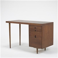 desk from the organic design competition by eero saarinen and charles eames