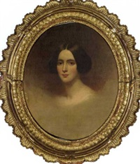 portrait of emily wetherill foster by samuel bell waugh