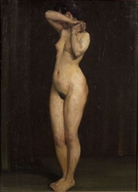 academic nude by frederick porter vinton