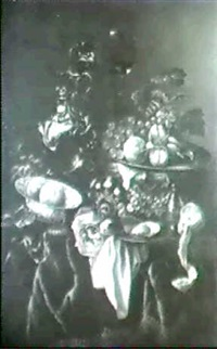 stilleben mit fruchten. by arnoldus bloemers