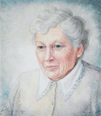 portrait of hilda van stockum by brigid marlin