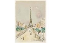 chemineau from passion, un coin du village from le village inspire (set of 2) by maurice utrillo