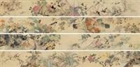 百花百鸟图 (flower and bird) by ma yuanyu