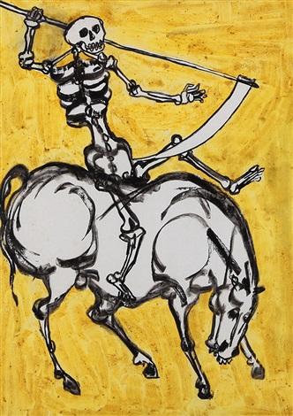 cavallo e cavaliere by agenore fabbri