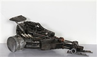 race car (from the heavy toys series) by daniel fiorda