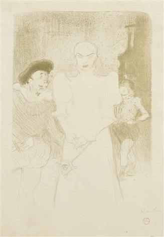 a l'opéra: madame caron dans faust by henri de toulouse-lautrec