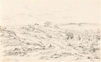 ohne titel (sketchbook w/34 works) by friedrich metz