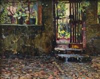 ingresso al giardino by metello merlo