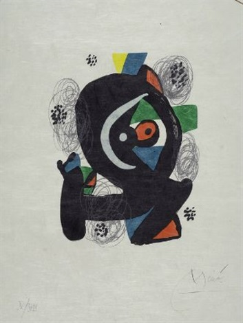 la melodie acide by joan miró