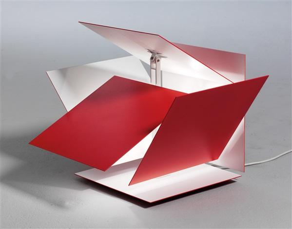 Modular Light Pink lamp by Robert Hoffmann on artnet