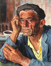 marinero en la taberna and puestos del rastro (madrid) (2 works) by ernesto goday caamano